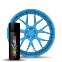 Larex Flo Blue - ярко-синий матовый баллончик