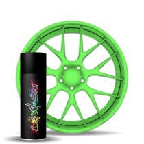 Larex Flo Green - ярко-зеленый матовый баллончик