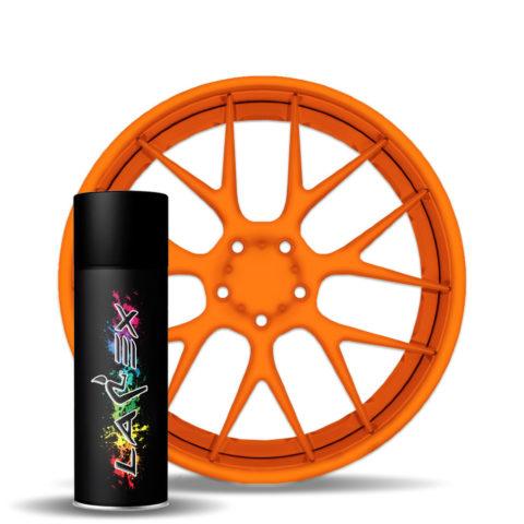 Larex Flo Orange - ярко-оранжевый матовый баллончик