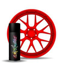 Larex Flo Red - ярко-красный матовый баллончик
