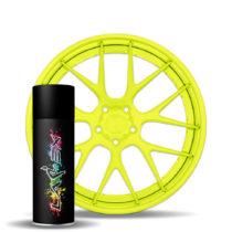 Larex Flo Yellow - ярко-желтый матовый баллончик