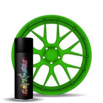 Larex Green - зеленый матовый баллончик