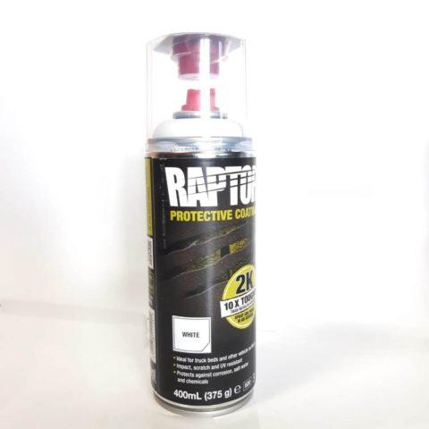 RAPTOR 2K защитное покрытие в аэрозоли,(белый)